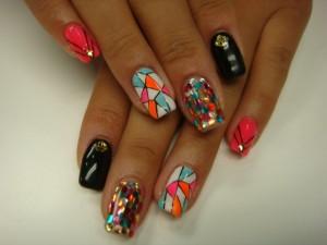 幾何学系nail
