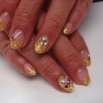 金箔フレンチネイルのサムネイル