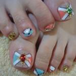 ビジューfoot nailのサムネイル
