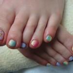 縦グラデfoot nailのサムネイル
